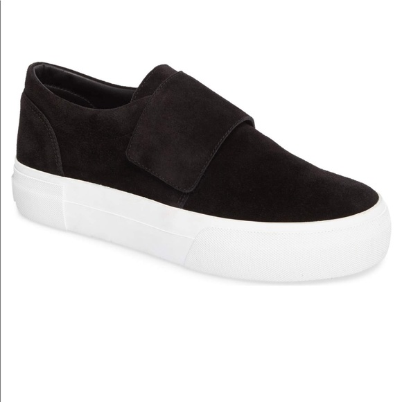 Vince Cage Slip On Velcro Sneakers